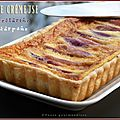 Tarte crmeuse aux nectarines et mascarpone