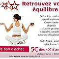 Baisse de forme? Livraison gratuite pour vous re-booster