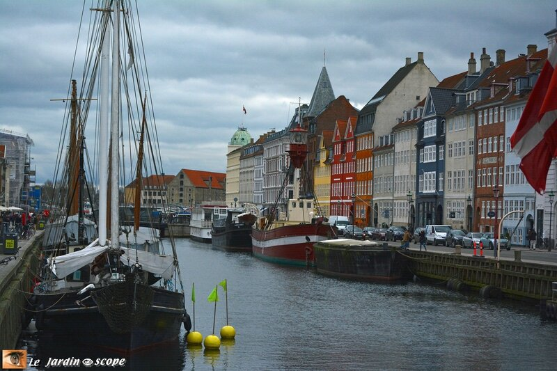 Le Port Nyhavn à Copenhague
