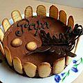 Gâteau infiniment chocolat