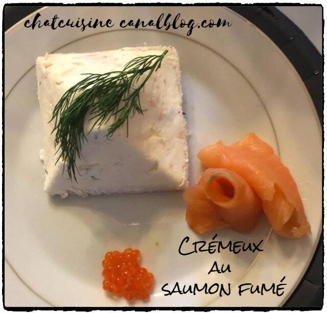 Crémeux au saumon fumé