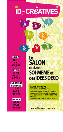 Id creatives salon du faire soi m me le scrap de sandrine vachon - Www id creatives com ...
