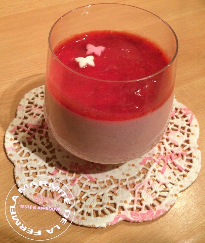 Bavarois fraises (11)