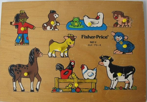 Fisher Price encastrements