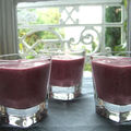 Smoothie framboise - kiwi - cranberry