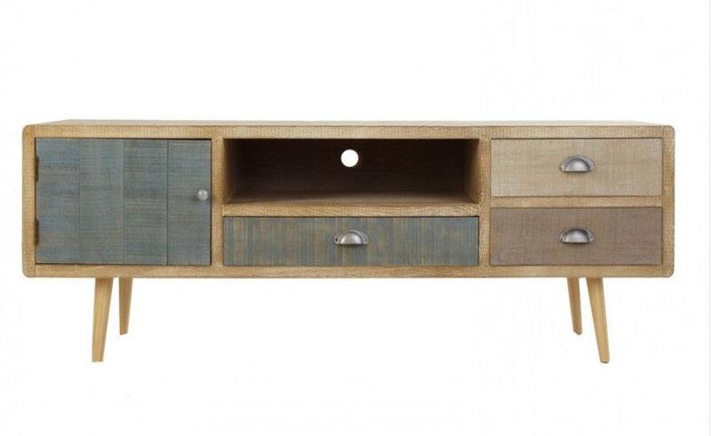 meuble télé bois scandinave