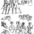 recherche personnages
