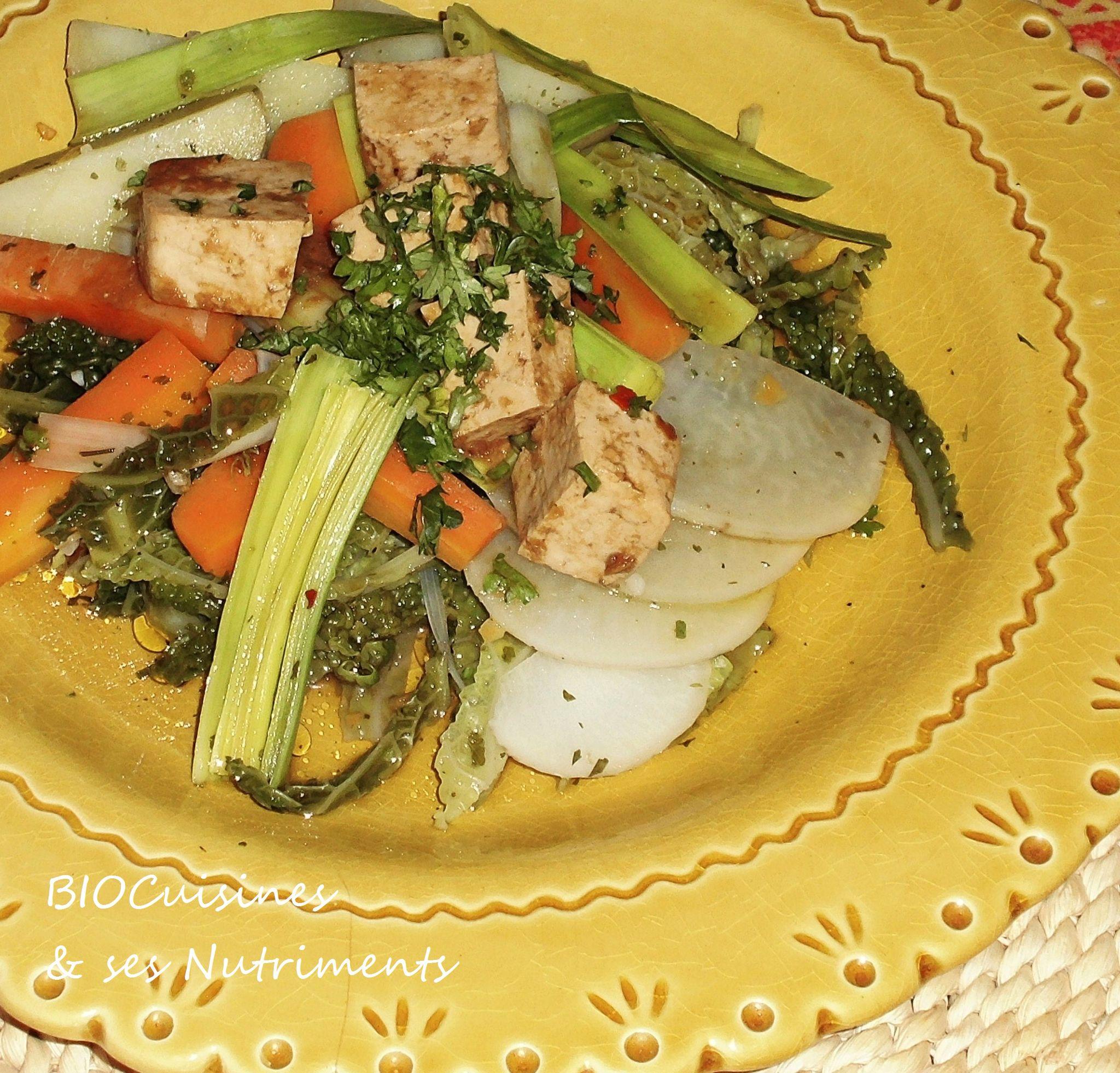 pot a vapeur tofu au miso