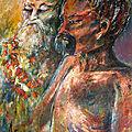 Le gourou et son disciple