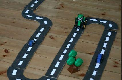 Circuit en carton