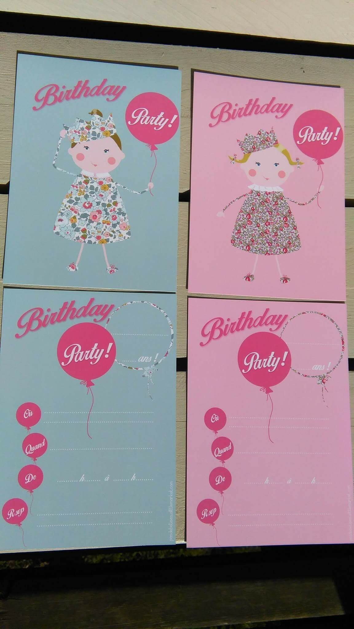 Un anniversaire qui se prépare : cartons, déco, cadeaux...