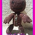 Modèle n°59 : sackboy de little big planet (tuto)