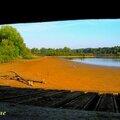Circuit vtt vers les étangs de lemps (site naturel sensible)et de salette,situés entre optevoz et courtenay (isle-crémieu/isère)