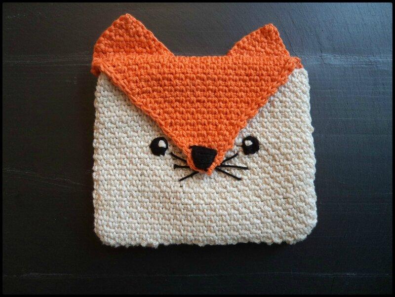 Renard crocheté Cam&Drey bricolent