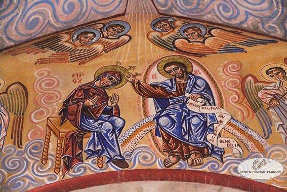 ALBAN_eglise_Notre_Dame_fresque_de_Nicolas_Greschny_courronnement_de_la_Vierge