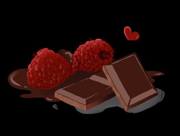Choco framboise