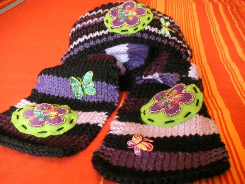 Bonnet Rasta et écharpe pour le Winterswap