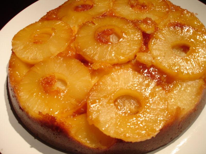 Gateau au yaourt ananas au sirop