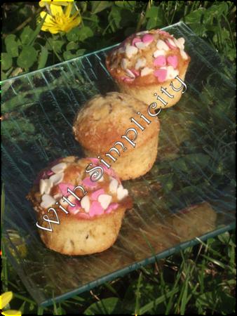 muffins noix de coco pépites chocolat 2