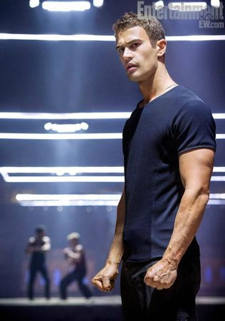 Theo James as Four Divergent Movie