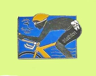 Triathlon Pin's Cycliste JO Sydney