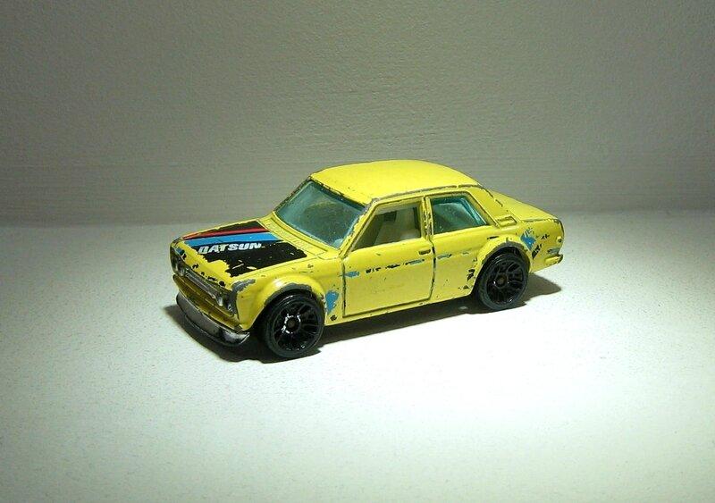 Datsun 510 (Hotwheels)