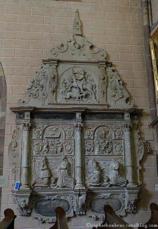 Marmoutier église cénotaphe