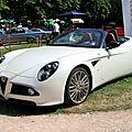 Alfa romeo 8C spider (34ème Internationales Oldtimer meeting de Baden-Baden) 01