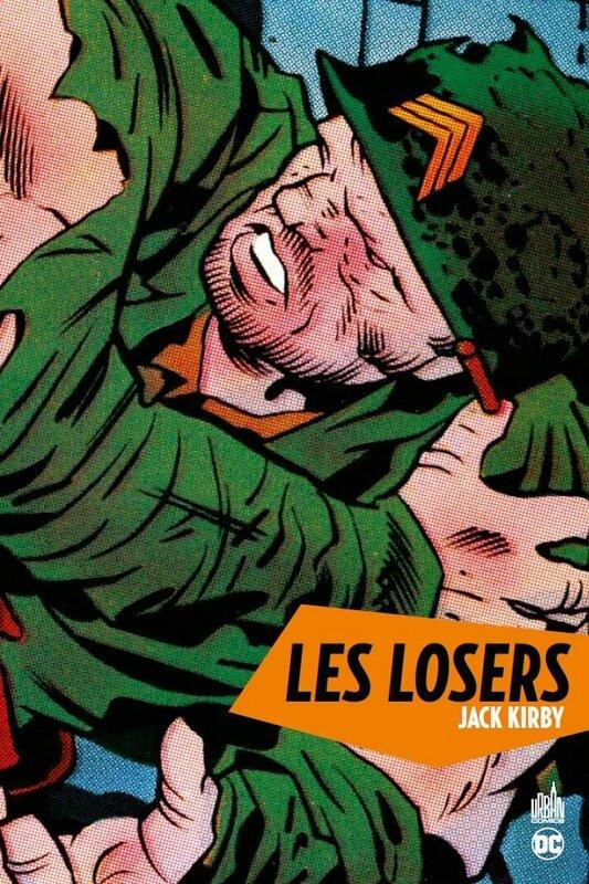 DC archives les losers par jack kirby
