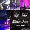 Nicky jam en concert au jockeyclub perou le 11 decembre 2015