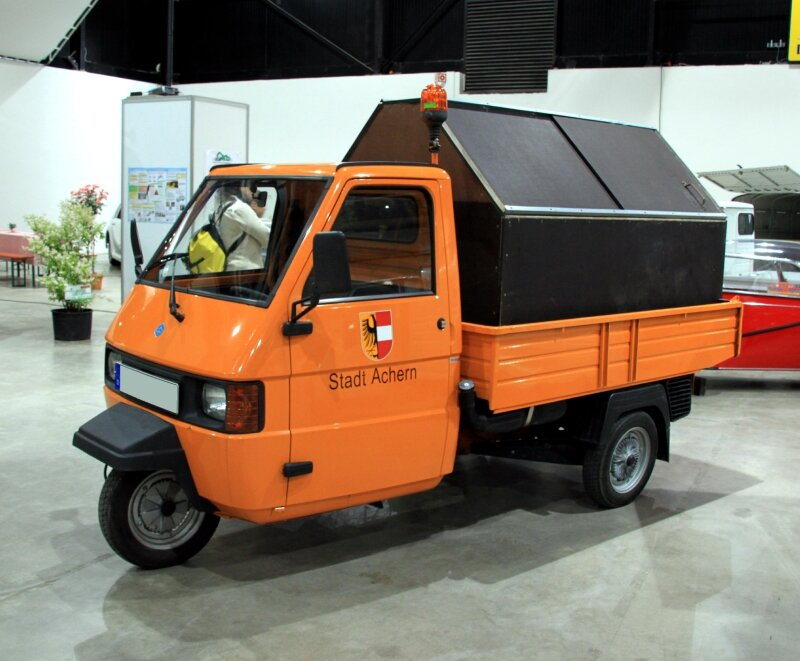 triporteur piaggio ape 50cc. Black Bedroom Furniture Sets. Home Design Ideas