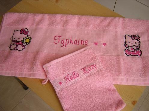 Ensemble de toilette pour Typhaine