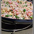 Riz cantonais - arroz cantones