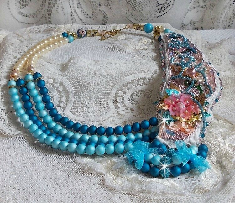 Collier Eternel Bleu