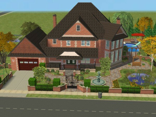 Le cottage maisons deco sims2 for Maison moderne de luxe sims 3