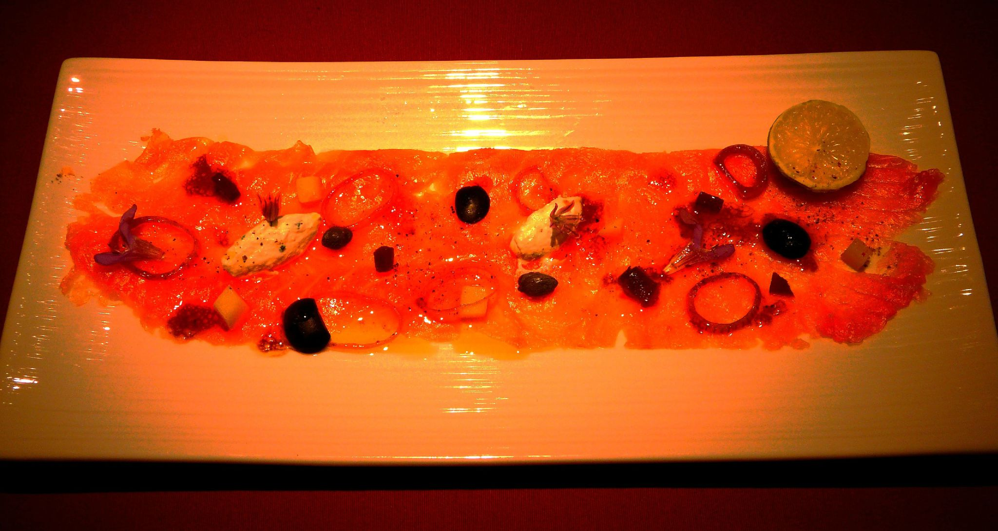 02 Carpaccio de saumon - Copie