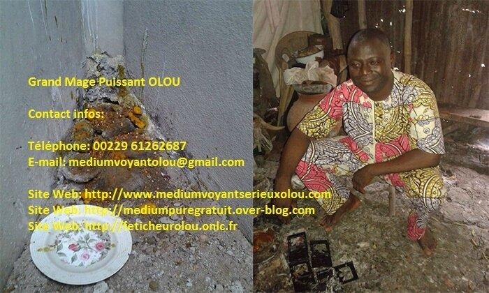 Marabout voyant féticheur qui résout vos problèmes: Médium Voyant Olou
