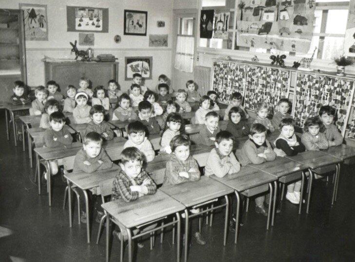 école du Châtelard 1966