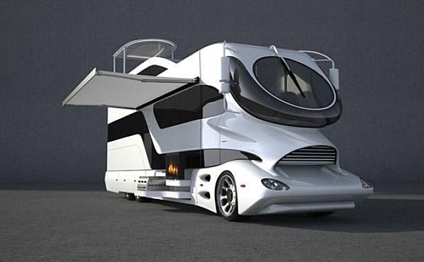 Camping car de luxe elemment palazzo marchi mobile for Camping car de luxe avec piscine
