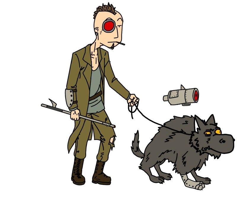 Punk à chien c