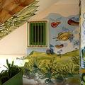 decoration pour charcuterie italienne au cap vert, santa maria