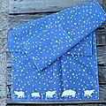 foulard Hippo