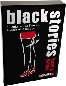 Boutique jeux de société - Pontivy - morbihan - ludis factory - Black stories Sexe & crimes