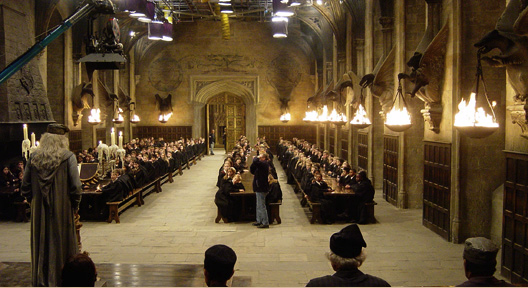 Harry potter studios tours londres calling for Salle a manger harry potter