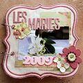 mini album les mariés de 2009 - 01/02/2010