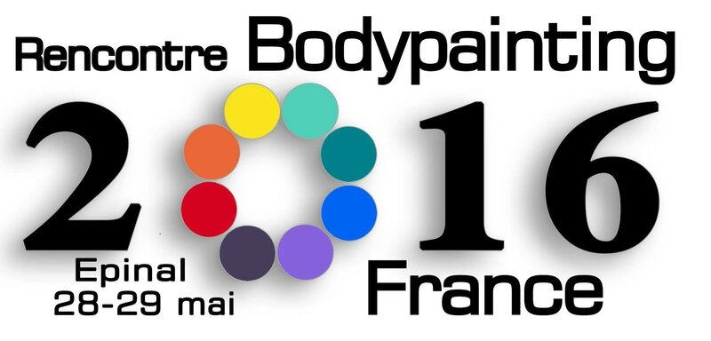 Rencontre bodypainting france 2016