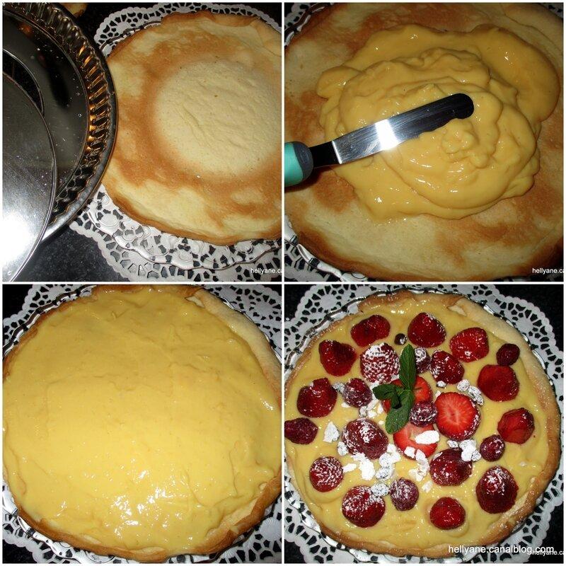tarte aux pommes vanou + tarte fraises1