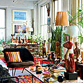 Plantes vertes, kilims & Vintage ... Love !!!