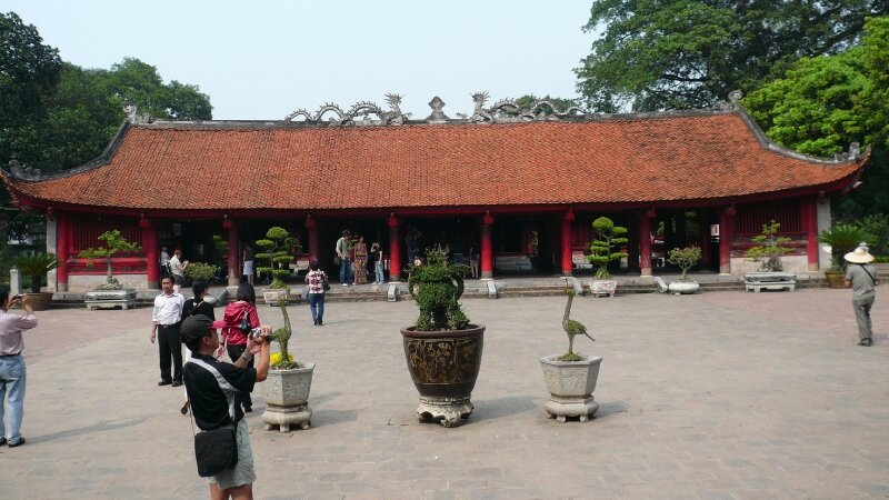 le temple de la litterature,hanoi - Photo de Vietnam - Les ...
