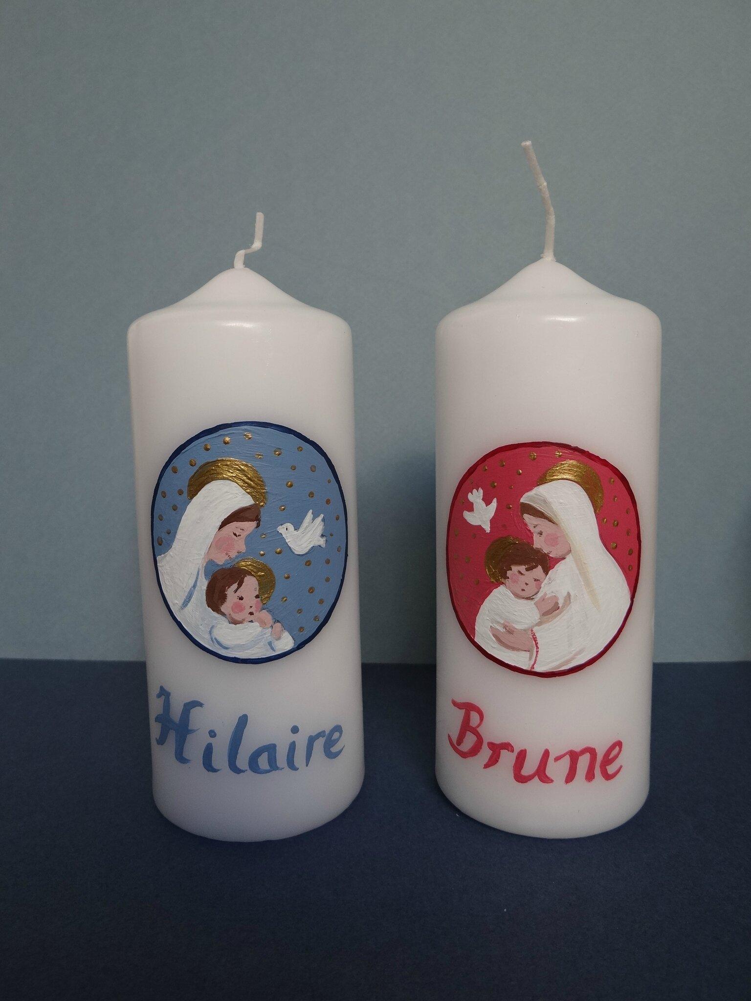 cierges Brune et Hilaire